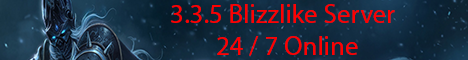 WoW Privat Server 3.3.5A Blizzlike