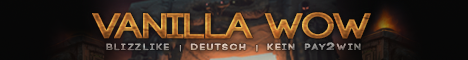 Vanilla-WoW | Patch 1.12.1 | Blizzlike | Deutsch