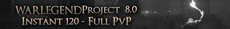 Warlegend-Project - Battle For Azeroth 8.0 Instant PvP