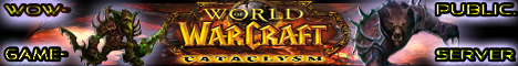 WoW-Public-Game-Server-Cataclysm